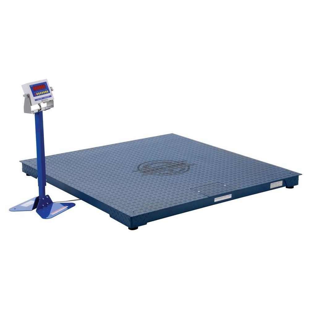 Vestil 5,000 lb. 60 inch Digital NTEP Floor Scale by Vestil