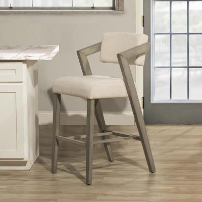 Snyder Aged Gray Non Swivel Counter Stool