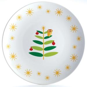 Rachael Ray Holiday Hoot 14 inch Round Platter by Rachael Ray