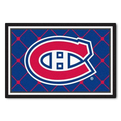 NHL Montreal Canadiens Blue 5 ft. x 8 ft. Indoor Area Rug