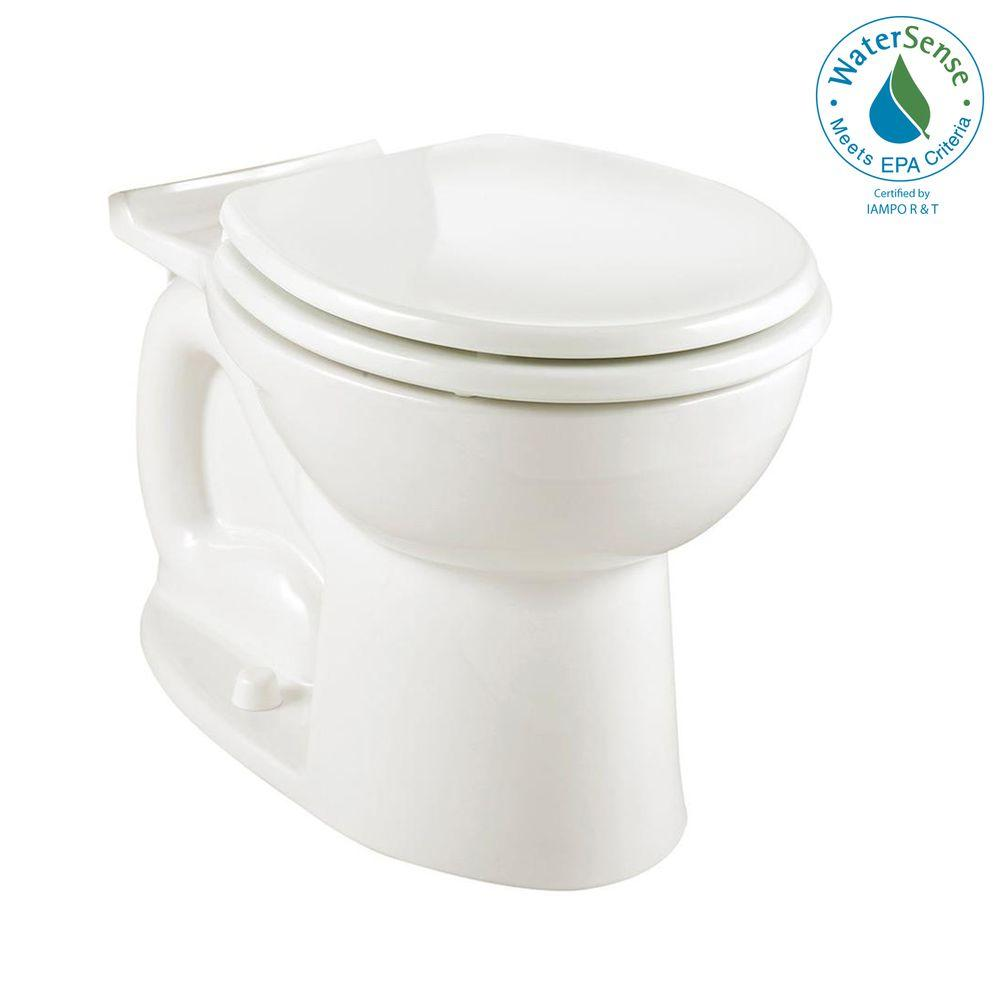 American Standard Cadet 3 Universal Elongated Toilet Bowl Only in White