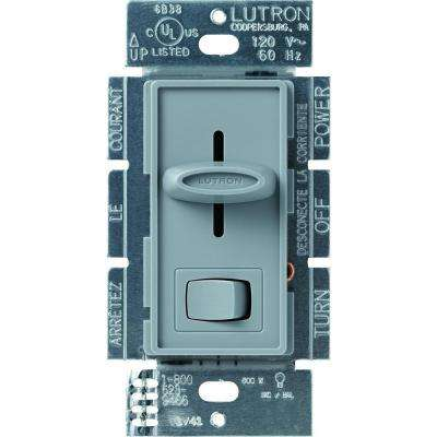 Skylark 600-Watt Single-Pole Preset Dimmer, Gray