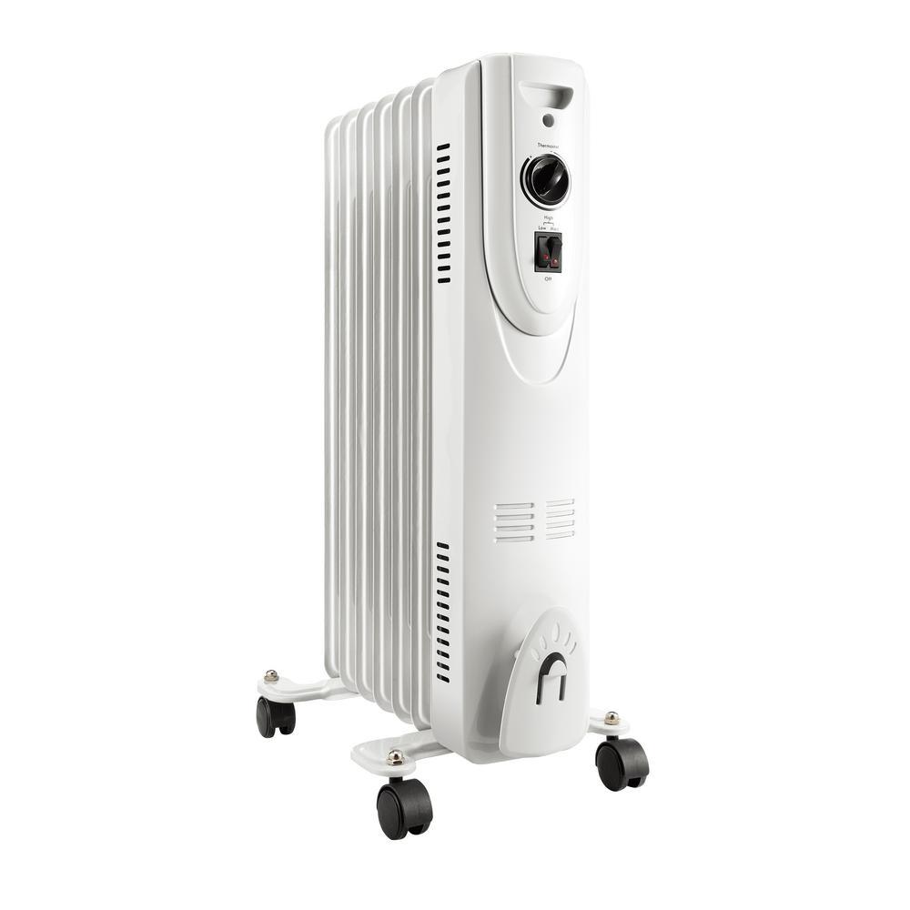 Eco Series 1500-Watt Electric Oil Filled Radiator