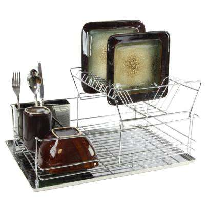 15.5 in. 2 Shelf Dish Rack