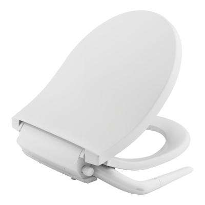 Puretide Non-Electric Bidet Seat for Round Toilets in White