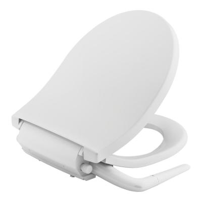 Puretide Non- Electric Bidet Seat for Round Toilets in White
