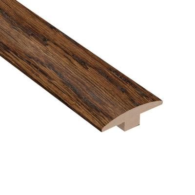 Distressed Montecito Oak 3/8 in. Thick x 2 in. Wide x 78 in. Length T-Molding