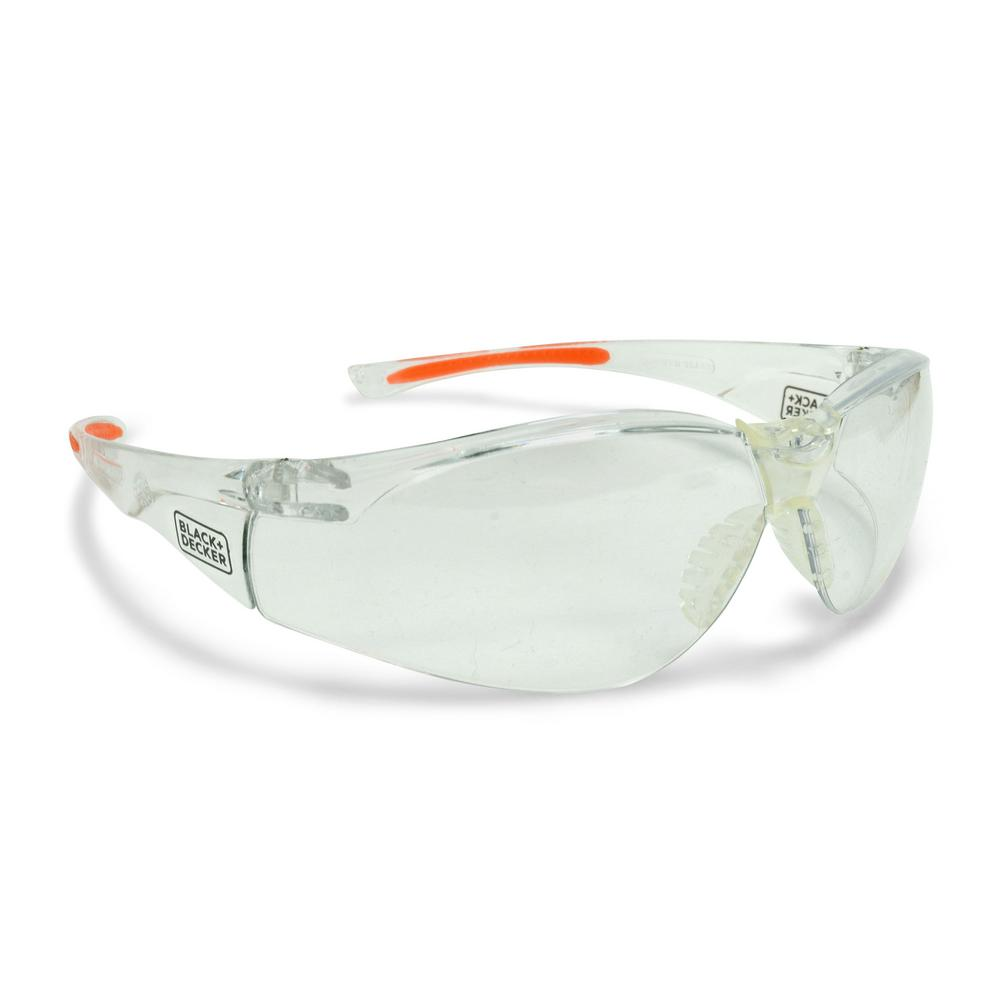 High Performance Lightweight Safety Eyewear with Clear Lens