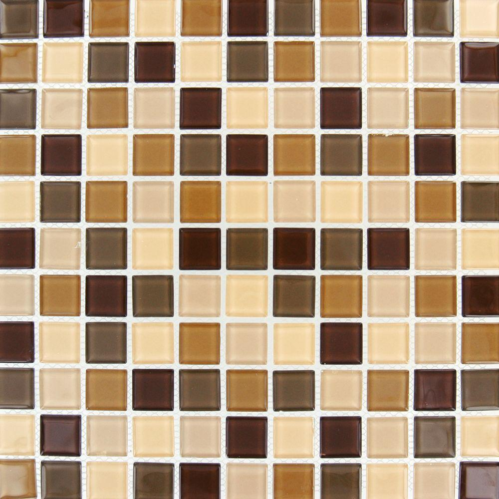 Msi Spring Leaf 12 In X 4 Mm Gl Mesh Mounted Mosaic Tile Th Cr Sl 4mm The Home Depot