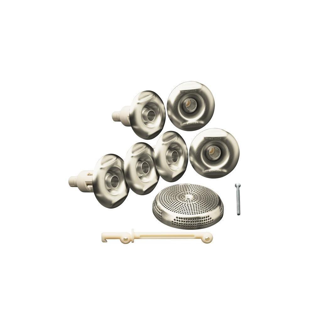Flexjet Whirlpool Trim Kit Only in Vibrant Brushed Nickel