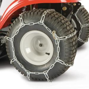 25x8.5x14 Rubber Tractor Tire Chains Set of 2 TireChain.com 25 8.5 14
