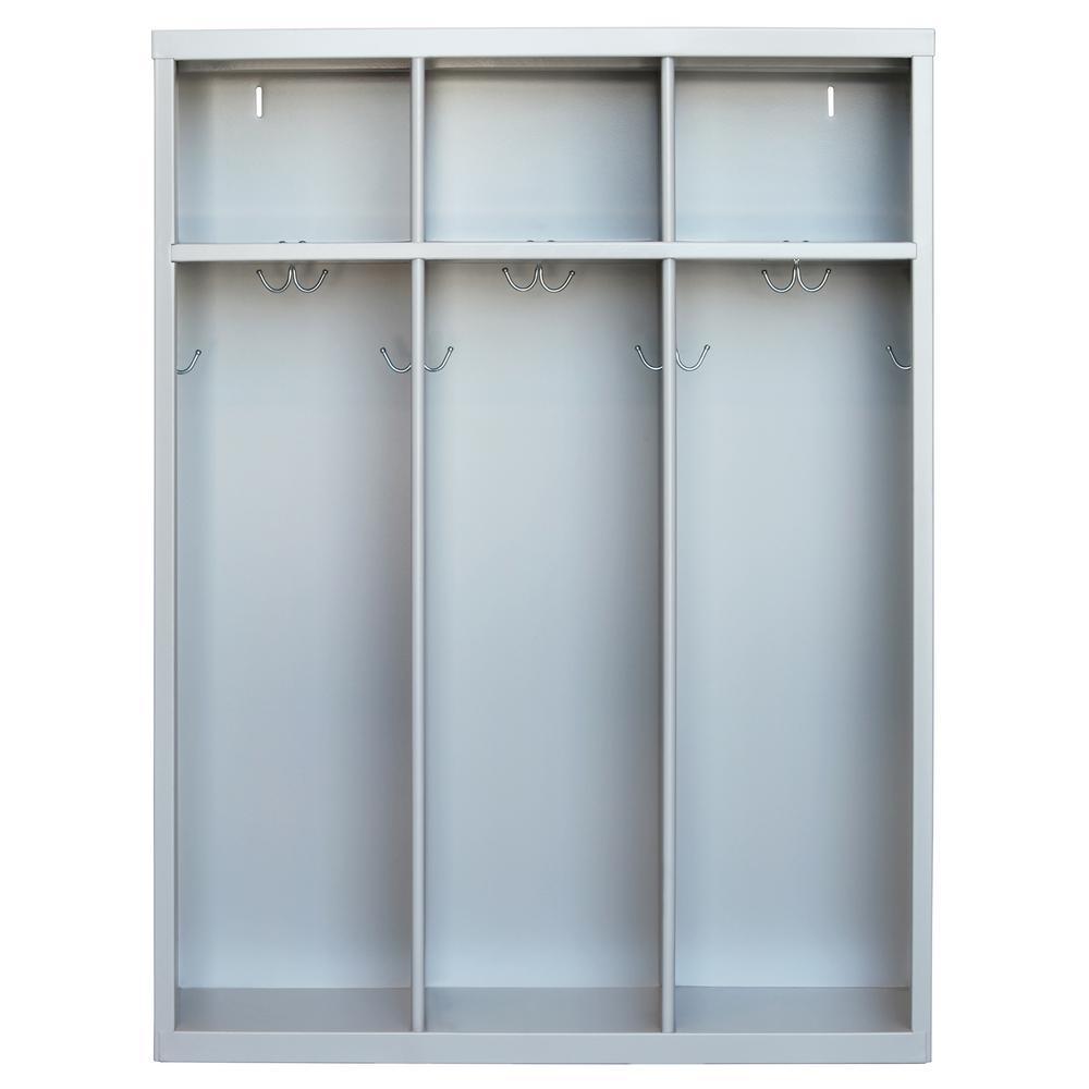 1 Shelf Steel Open Front Kids Locker ...
