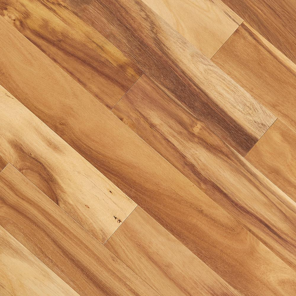 Home Legend Avani Acacia 3/8 in. T x 5 in. W x Varying Length Click Lock Exotic Engineered Hardwood Flooring (26.25 sq. ft./case)
