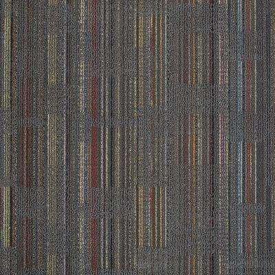 Designer Cool Gray Loop 24 in. x 24 in. Modular Carpet Tile Kit (18 Tiles/Case)