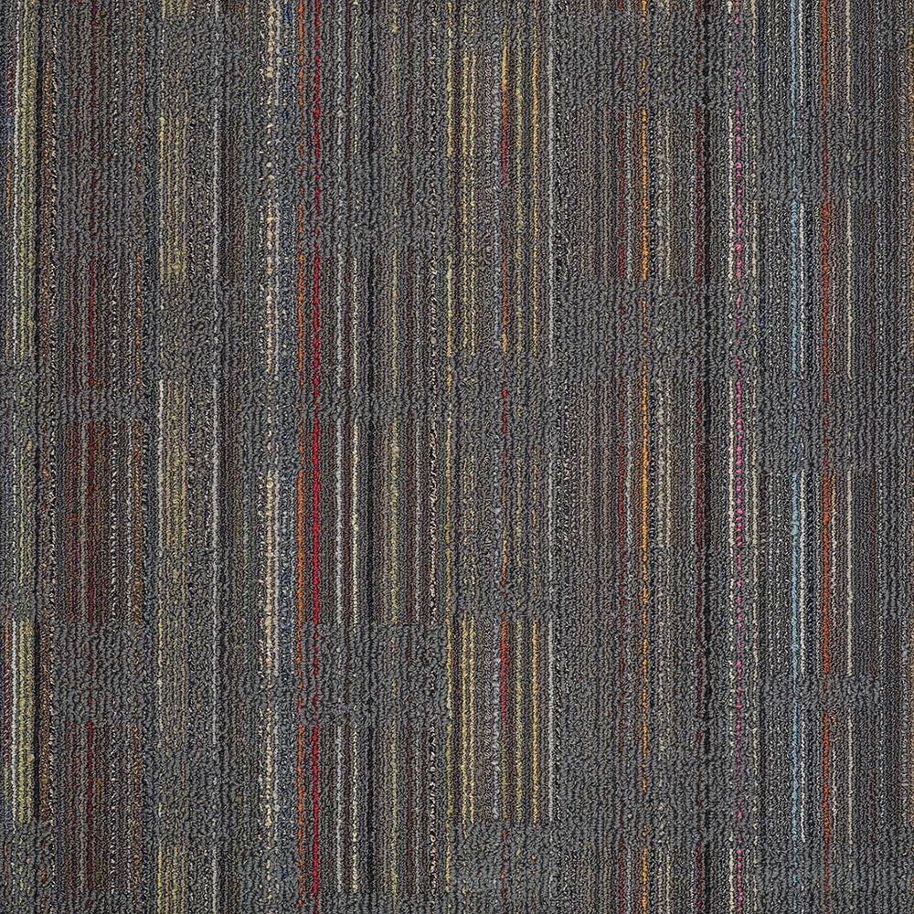 Designer Cool Gray 24 in. x 24 in. Modular Carpet Tile