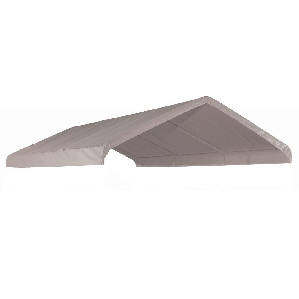 White Canopy Replacement Cover  sc 1 st  The Home Depot & ShelterLogic - Parts u0026 Accessories - Canopies - The Home Depot