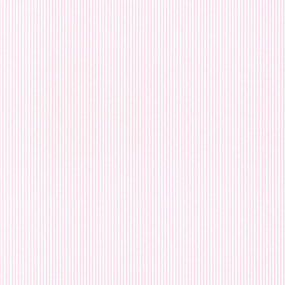 Baby Stripe Wallpaper Light Pink White