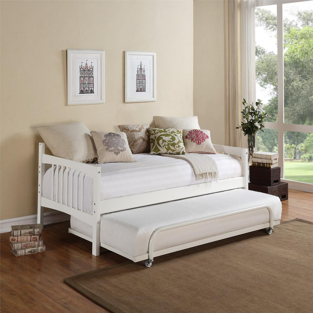 Dorel Asia Kayden White Twin Daybed-FA6394W