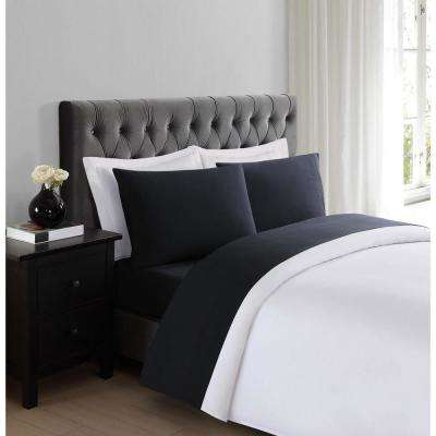 Everyday Black Full Sheet Set