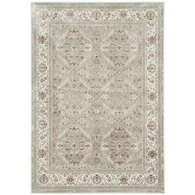Persian Garden Silver/Ivory 8 ft. x 10 ft. Area Rug