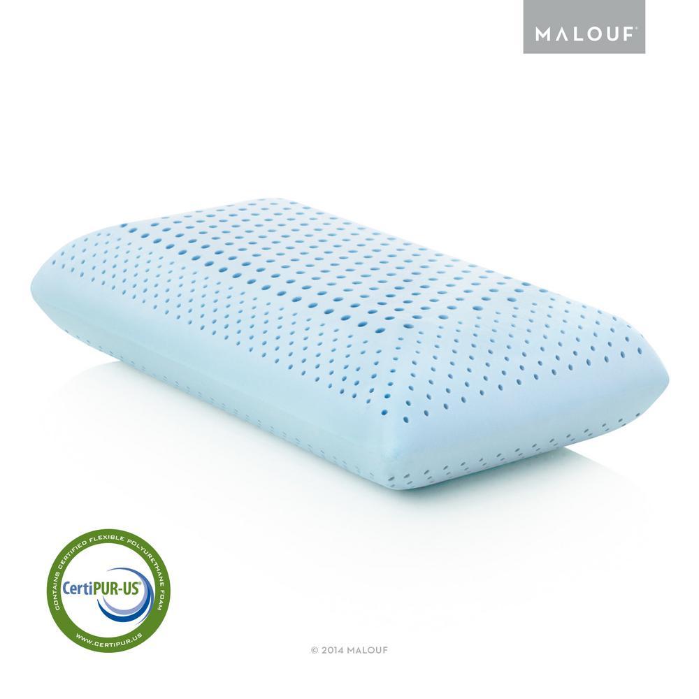 Z Zoned Dough Gel Memory Foam Pillow – Mid Loft