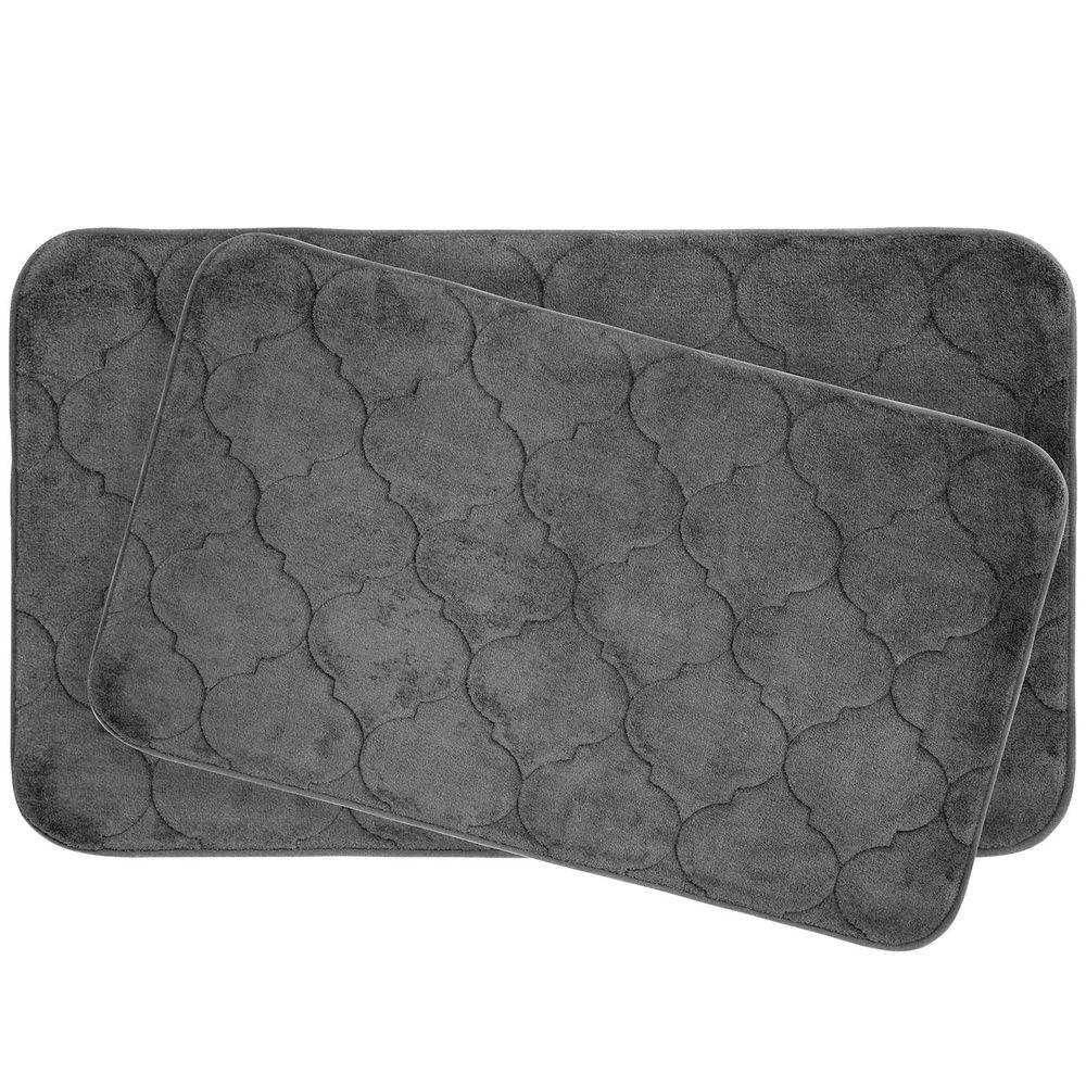 BounceComfort Faymore 17 in. x 24 in./ 20 in. x 34 in. 2-Piece ...