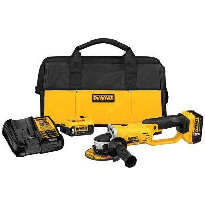 20-Volt MAX Lithium-Ion Cordless Cut-Off Tool Kit with (2) Batteries 5Ah, Charger and Contractor Bag