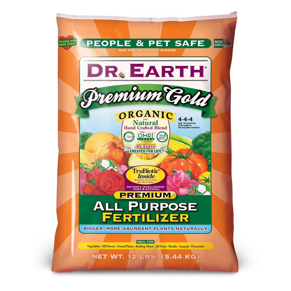 12 lb. Premium Gold All Purpose Fertilizer