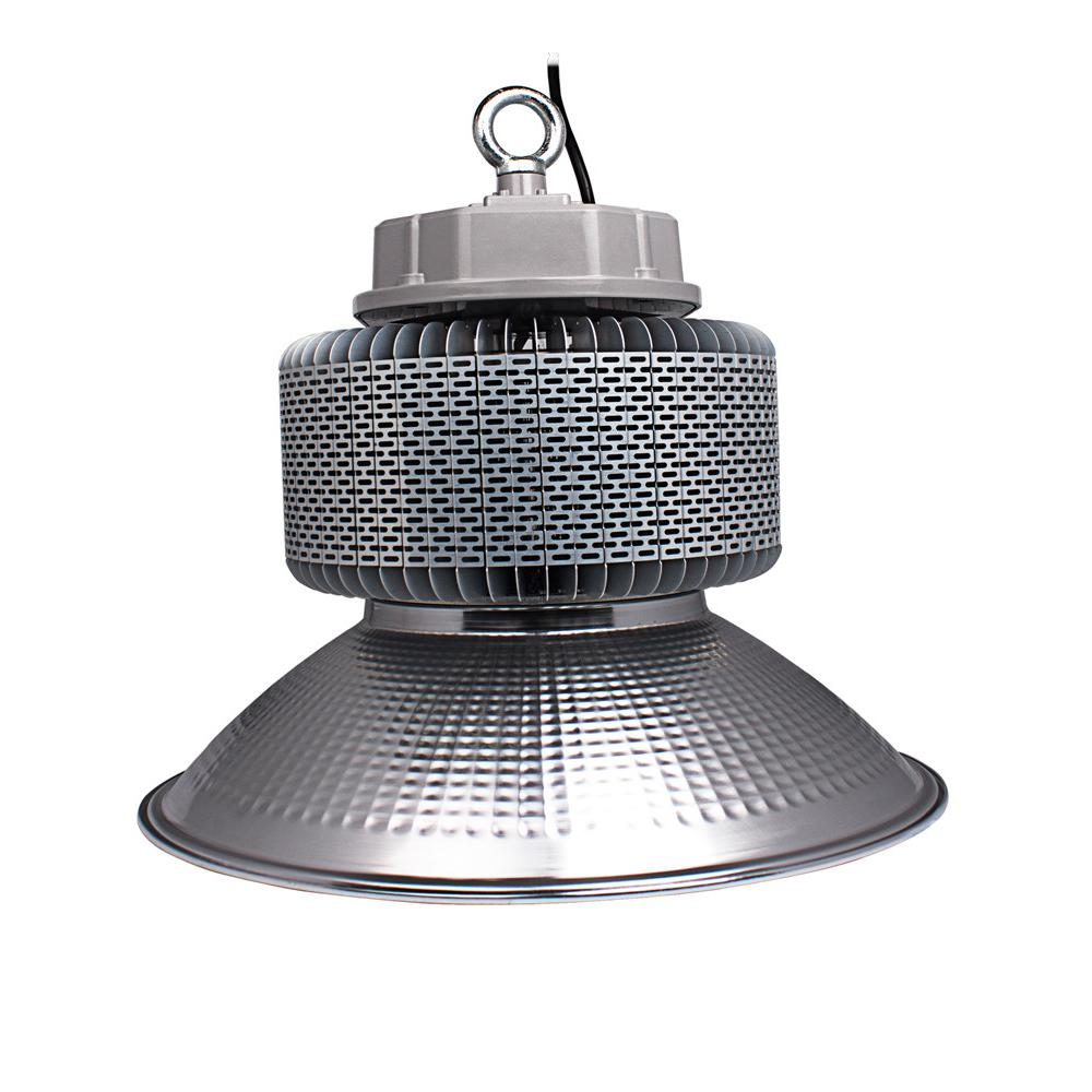 Silverhawk 200-Watt Silver Integrated LED High Bay Light