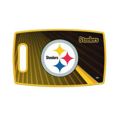 Pittsburgh Steelers Large Plastic Cutting Board