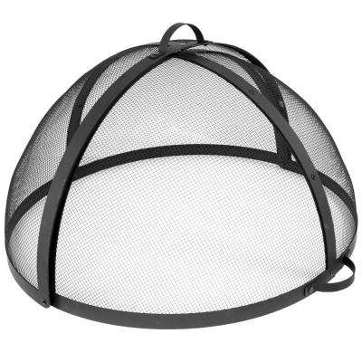 40 in. Easy Access Steel Fire Pit Spark Screen
