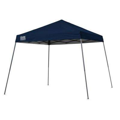 Expedition Team Colors 10 ft. x 10 ft. Navy Blue Slant Leg Instant Canopy