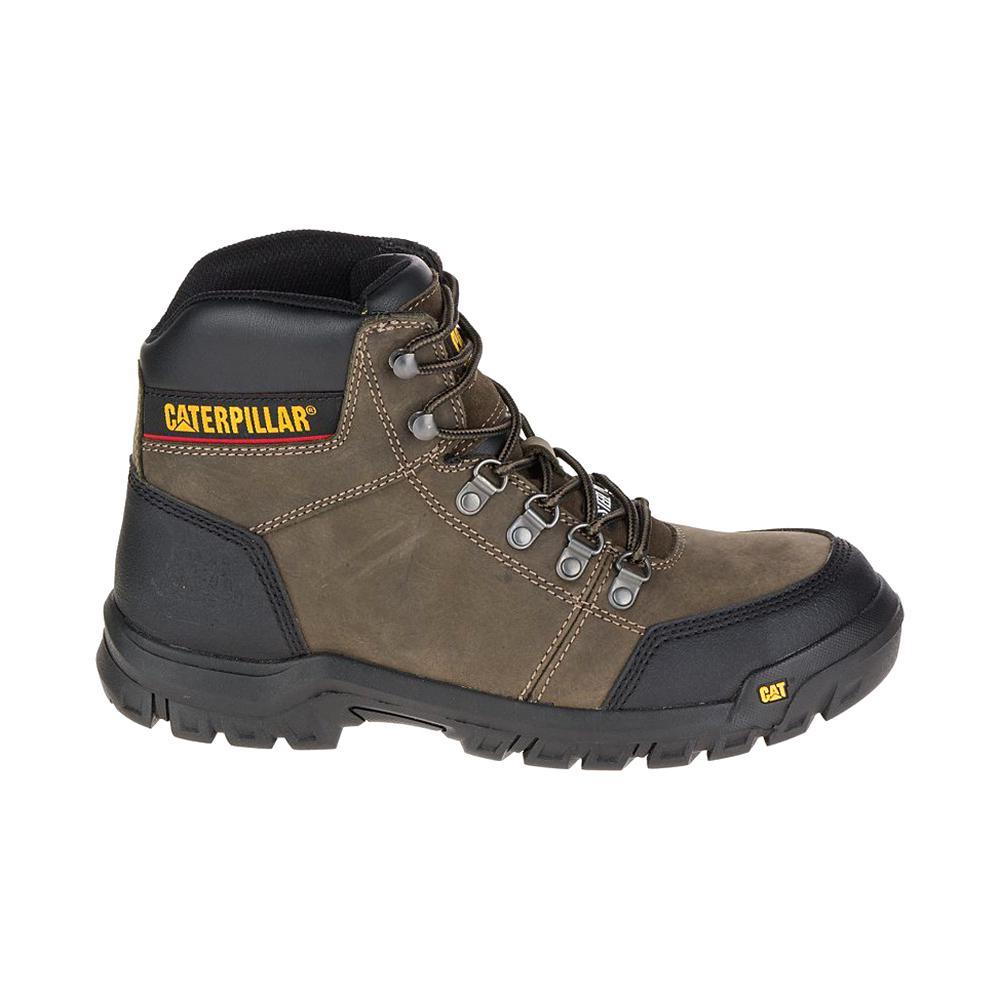 2c4b874b179 CAT Footwear Outline Men's Size 7M Dark Gull Grey Steel Toe Boots
