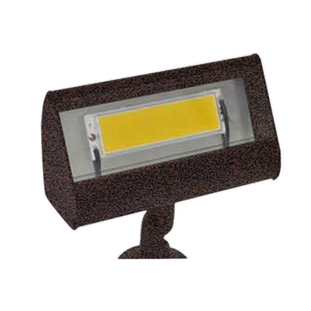 Centennial 1-Light Outdoor LED Weathered Brown Led Flood Light