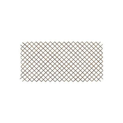 72 in. L x 48 in. H Willow Expandable Trellis Fence Set