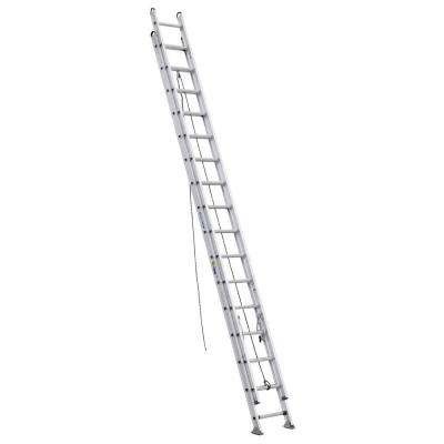 32 ft. Aluminum D-Rung Extension Ladder with 375 lb. Load Capacity Type IAA Duty Rating