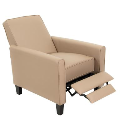 Darvis Camel PU Leather Recliner