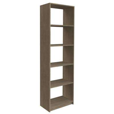 84 in. H x 24 in. W Coastal Haven Shelving Tower Kit