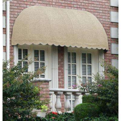 12 ft. Chicago Window/Entry Awning (31 in. H x 24 in. D) in Linen
