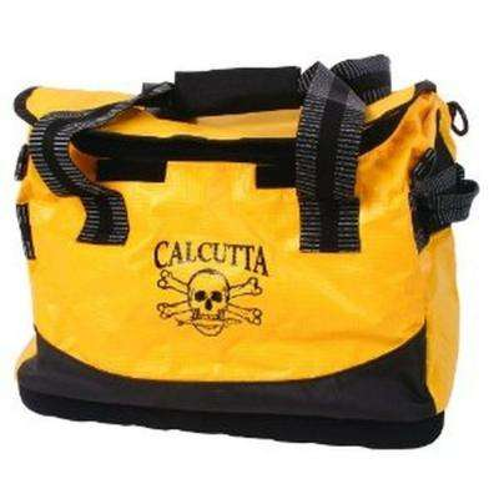 10.5 in. Yellow and Black Medium Boat Bag