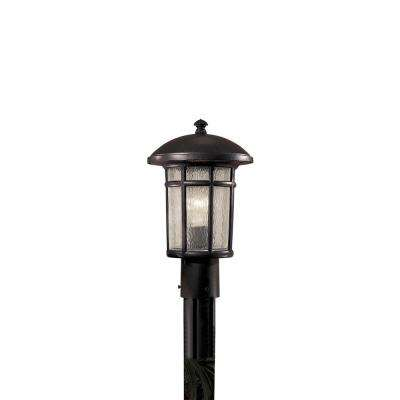 Cranston 1-Light Outdoor Heritage Post Mount