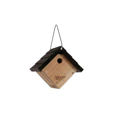 Cedar Wren Hanging Bird House