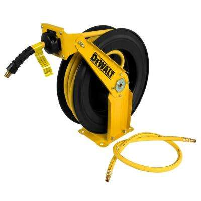3/8 in. x 50 ft. Double Arm Auto Retracting Air Hose Reel