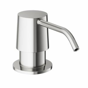 Pfister LF034-3ALS Brookwood 1-Handle Kitchen Faucet with Side Spray in Stainless Steel LF0343ALS