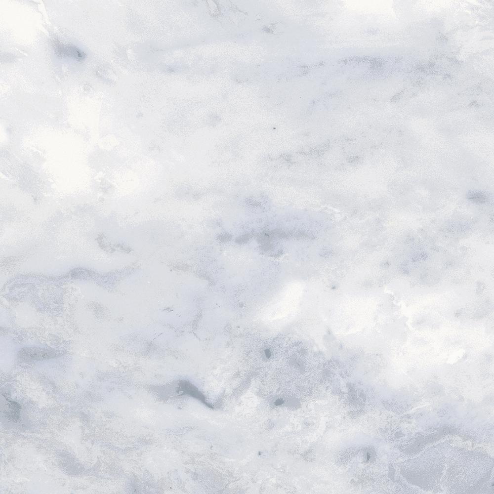 Classic Impressions Carrara 4 in. x 12 in. Bullnose 4 in. side Ceramic Trim Wall Tile