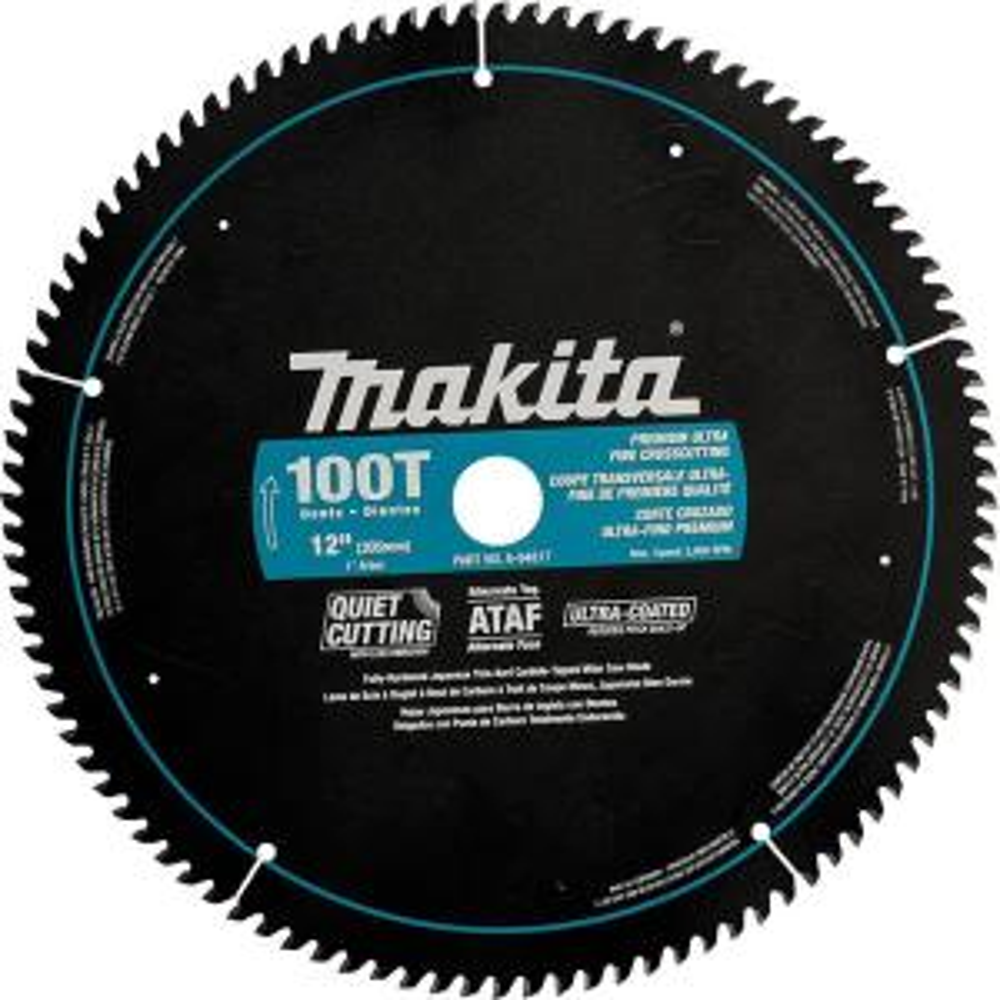 Makita 12 inch x 1 inch Ultra-Coated 100-Teeth Miter Saw Blade by Makita