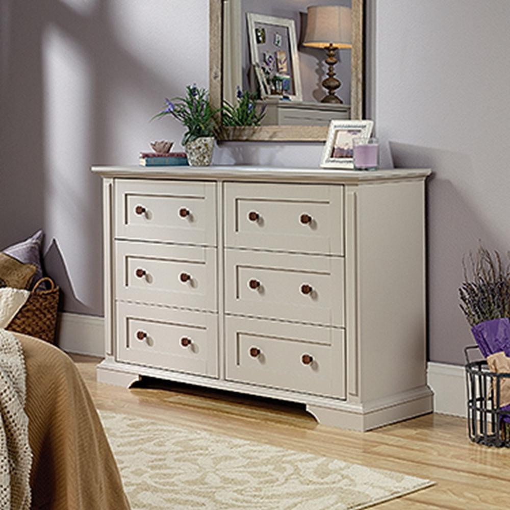 New Grange 6-Drawer Cobblestone Dresser