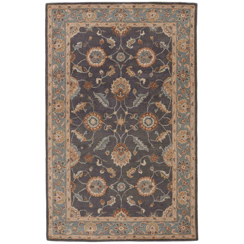 Area Rugs From India: Jaipur Rugs India Ink 8 Ft. X 10 Ft. Oriental Area Rug
