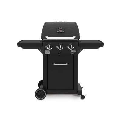 Cast 3200 3-Burner Propane Gas Grill in Black