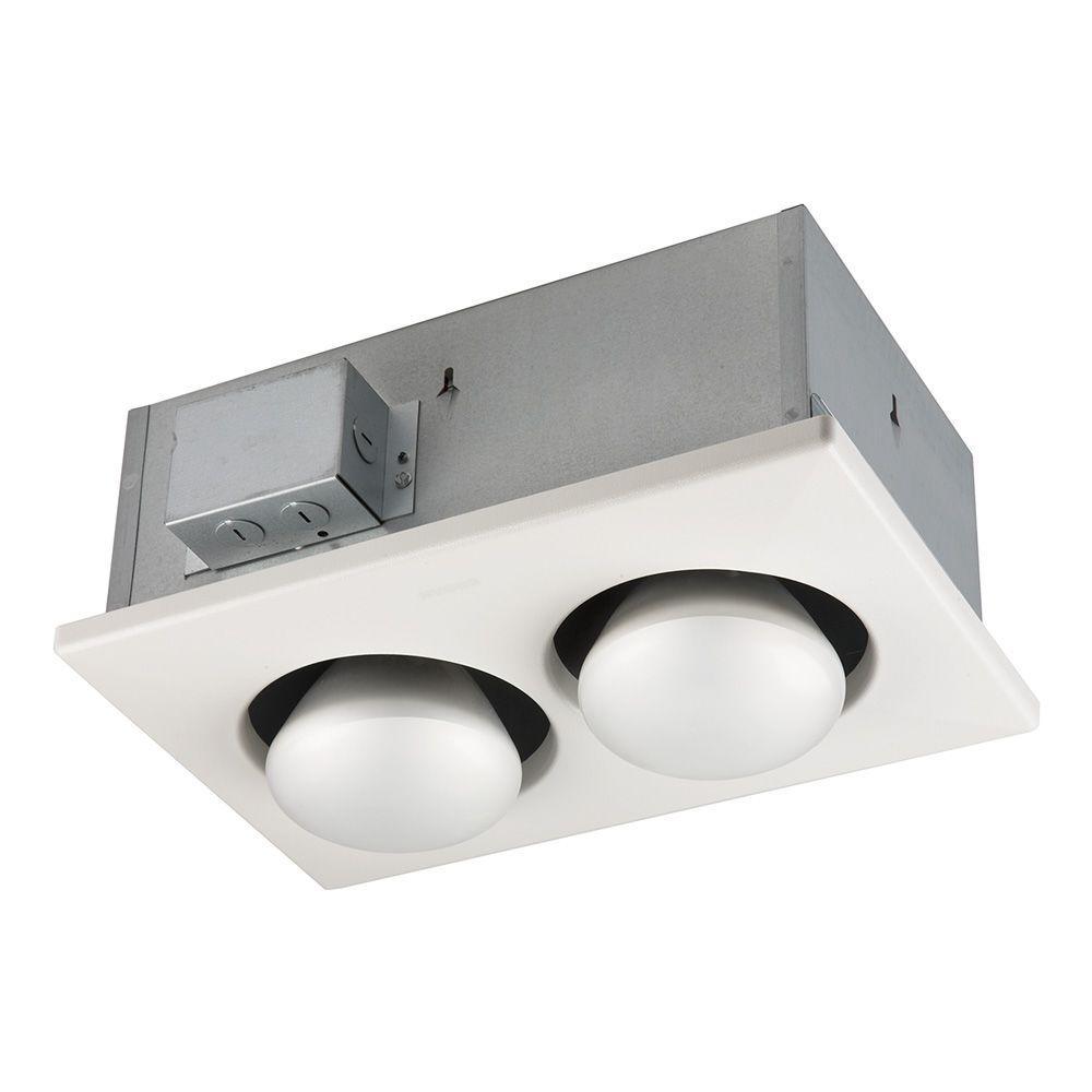 500-Watt 2-Bulb Ceiling Infrared Heater